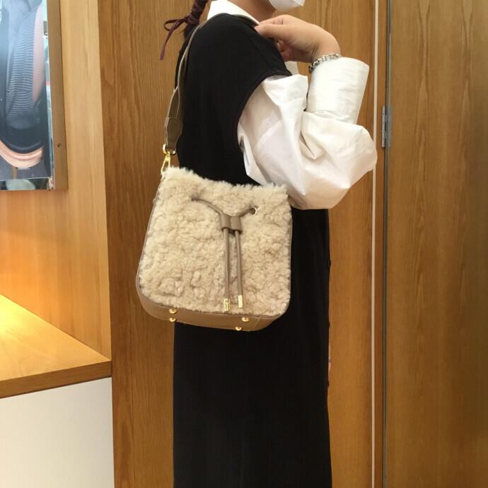 【新作】エコファー 巾着型バッグのご紹介🐏🍂