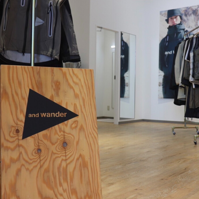 and wander POP UP STOREを終えて