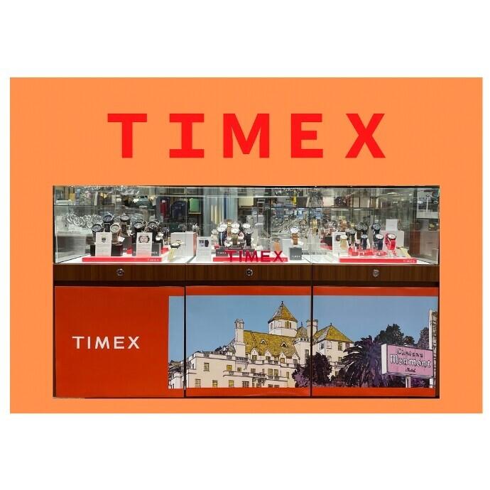 「TIMEX」POPUP開催!
