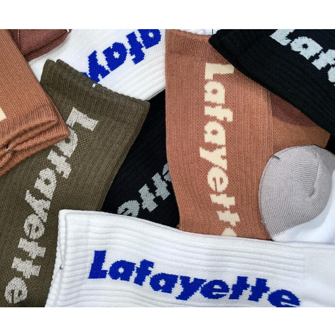 人気のLafayetteのロゴを配したソックスが登場‼️