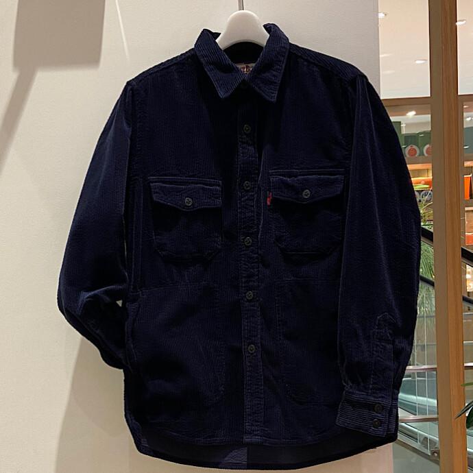 BLUE BLUE★サッカーコーデュロイ CPOシャツ