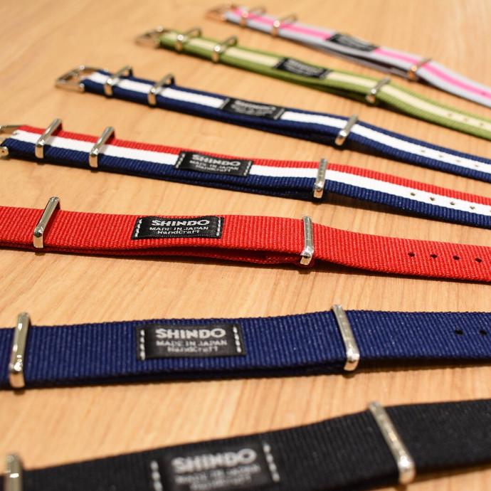 """日本製カスタム時計knot """"SHINDO""""と共同開発したナイロンストラップ入荷!数量限定"""