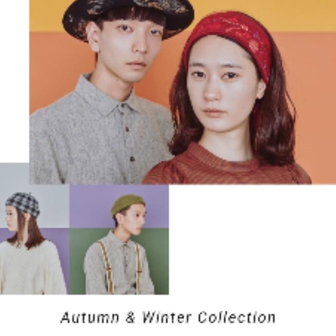 2018AW Collection本格スタート!