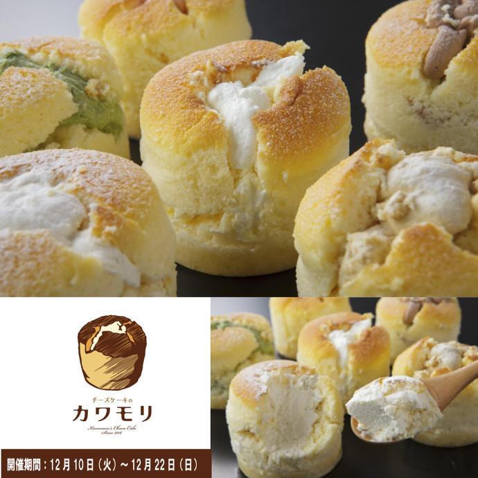 期間限定『チーズケーキのカワモリ』開催!