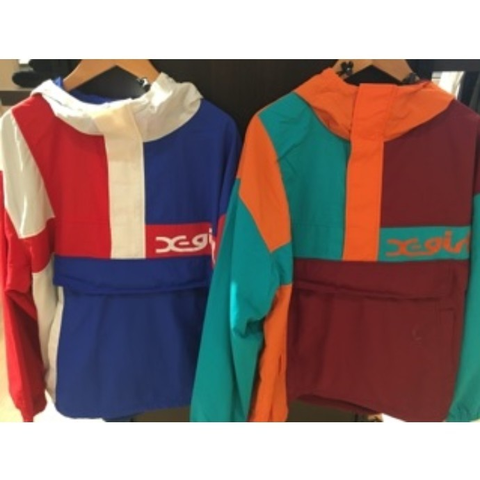 NEW!! X-GIRL 『CRAZY COLOR ANORAK』