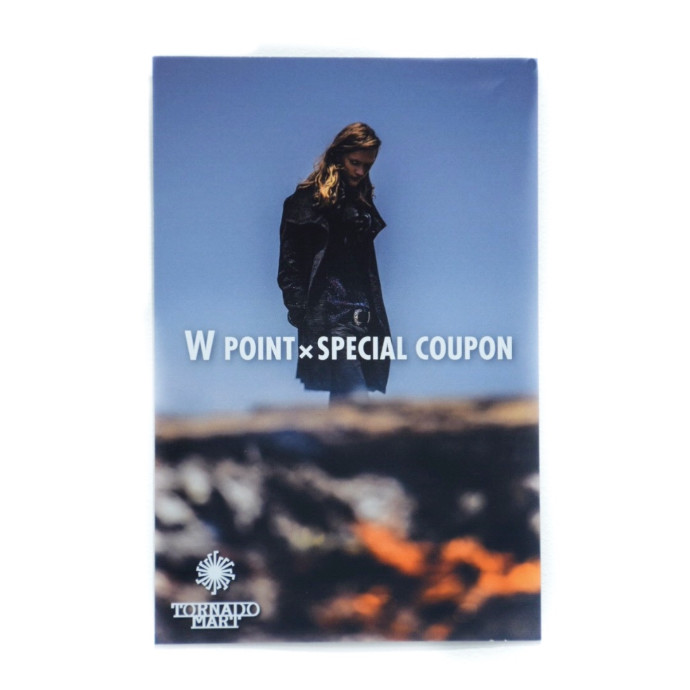 W point × Special coupon