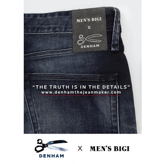 DENHAM × MEN'S BIGI Wネームジーンズ入荷‼︎