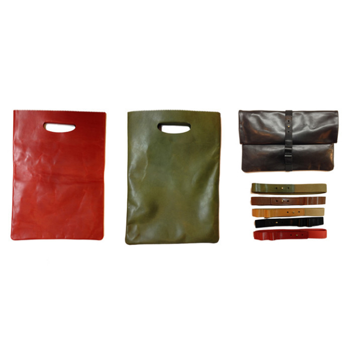 【Paper Leather Bag2】藤沢のレザーショップ