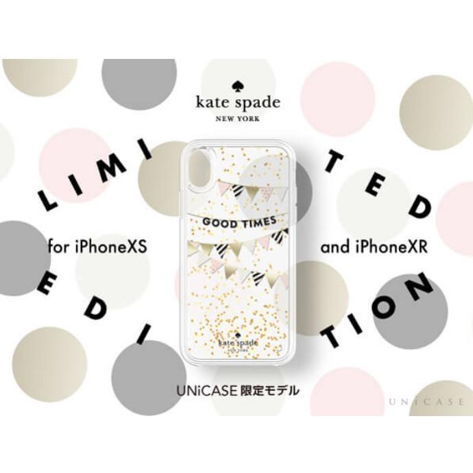 "UNiCASE限定モデル♪""kate spade new york""iPhoneXS/XRケース登場!"