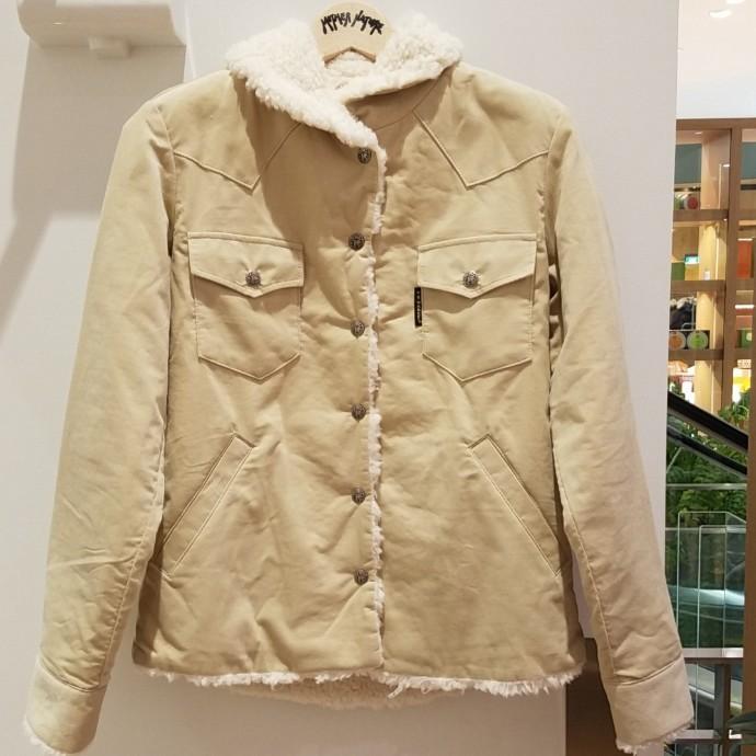 HRM☆ウィメンズ コーデュロイボアライニングジャケット