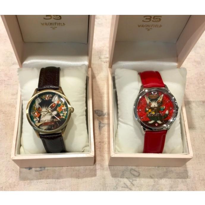 35周年記念アート腕時計入荷
