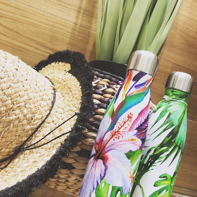 海外旅行に便利な耐熱ボトル♡