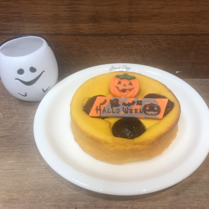 ハロウィン限定チーズケーキ