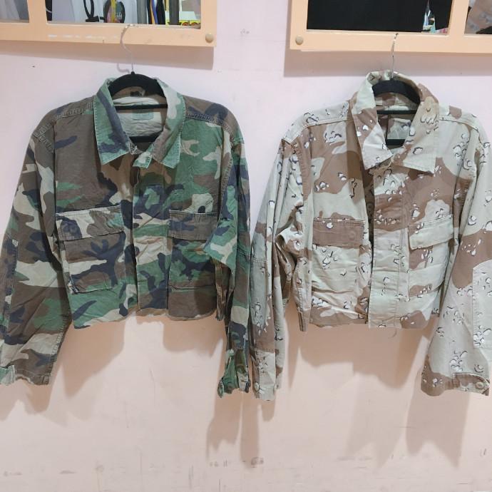 ♡ショート丈カモシャツ♡