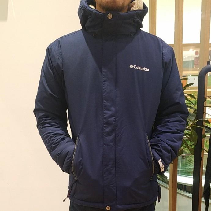 COLUMBIA  BLUE BLUE☆ローリングポイントリバーシブルジャケット