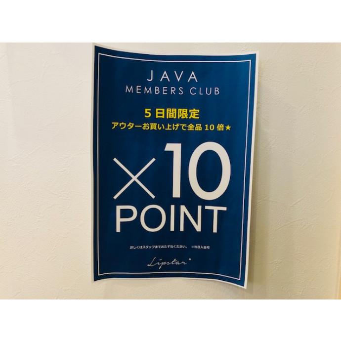 【NEWS】5日間限定!×10POINT