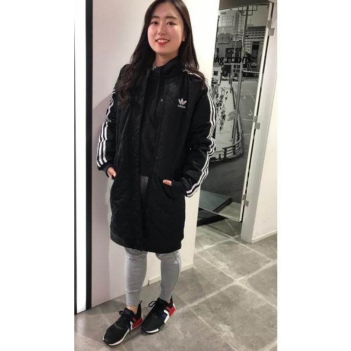 【adidasレディースロングジャケット】