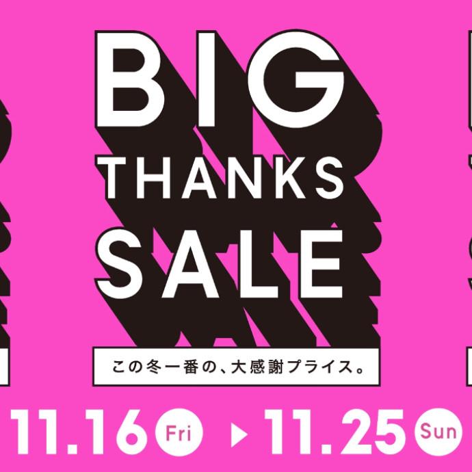 BIG THANKS SALE