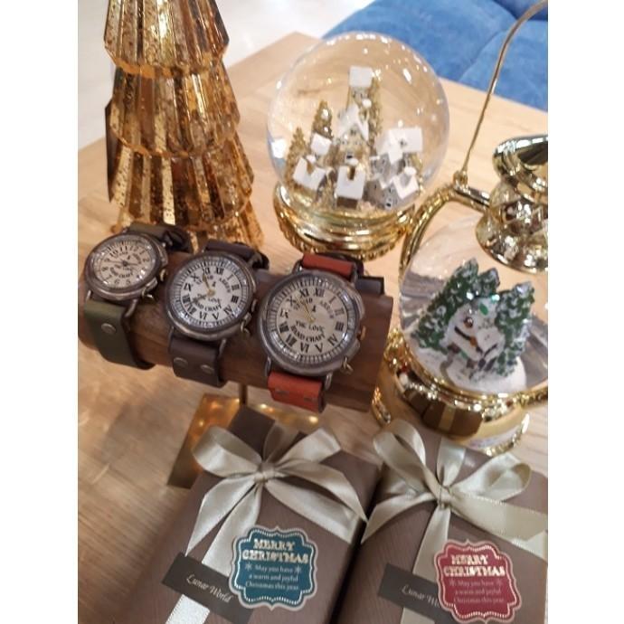 手造り時計のプレゼント