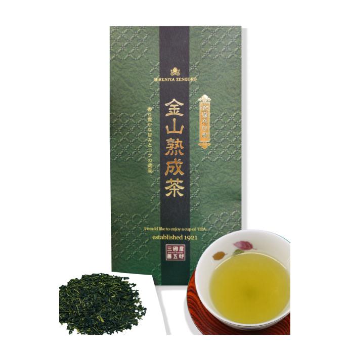 日本初!金山坑道跡で熟成されたお茶「金山熟成茶」