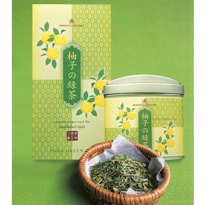"""冬の一番人気の香り""""柚子の緑茶"""""""