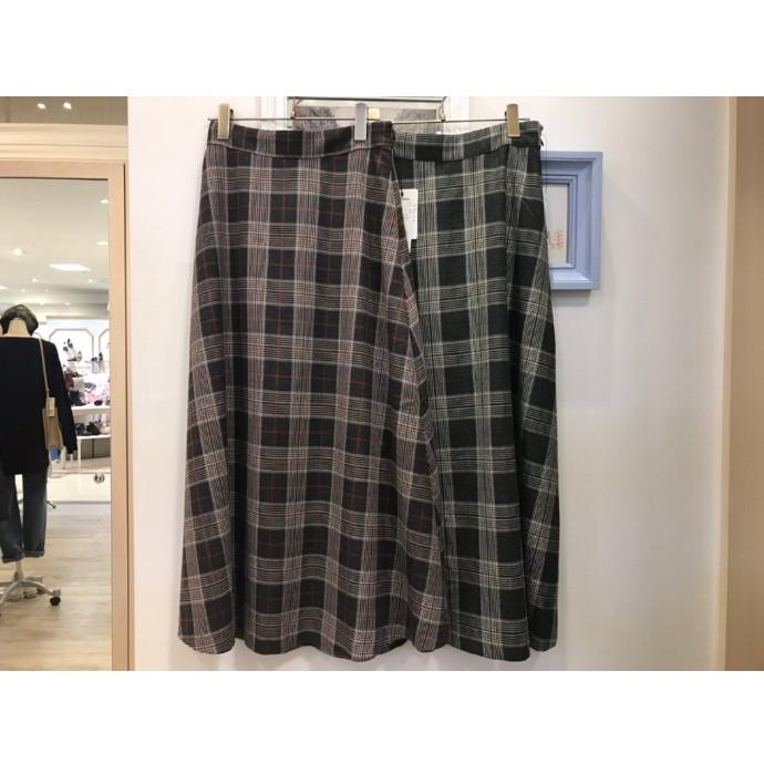 【NEW ARRIVAL】チェックフレアスカート