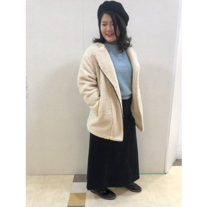 【RECOMMEND】5Gフェザーヤーン袖ボリュームPO