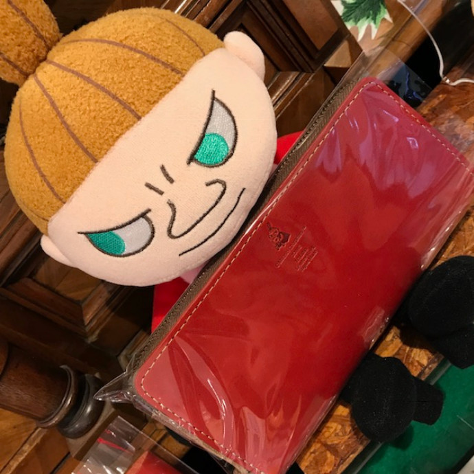 【ムーミンコラボ スナフキン&ミィシリーズ】藤沢のレザーショップ
