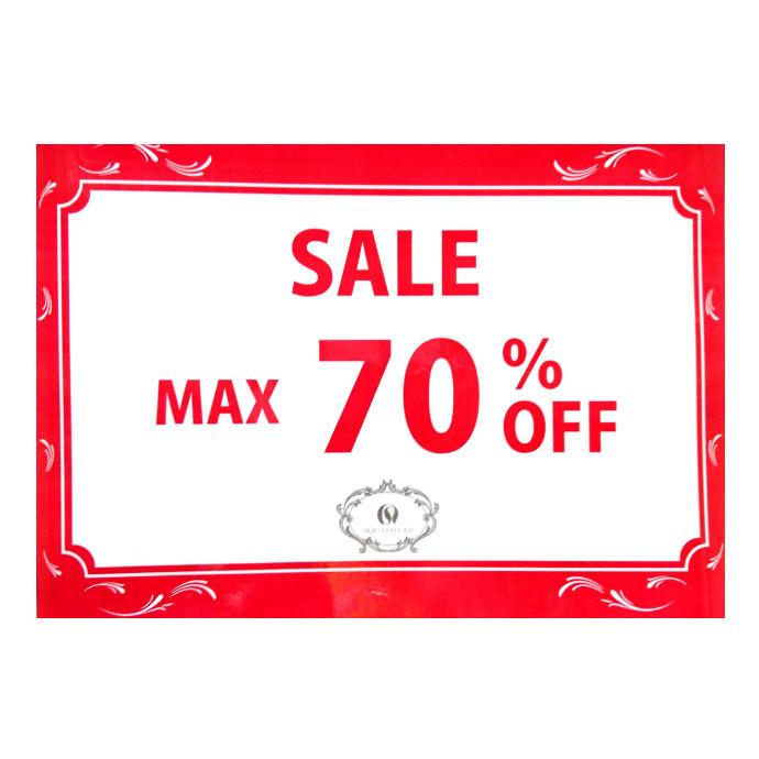 ☆ MAX 70 % OFF ☆