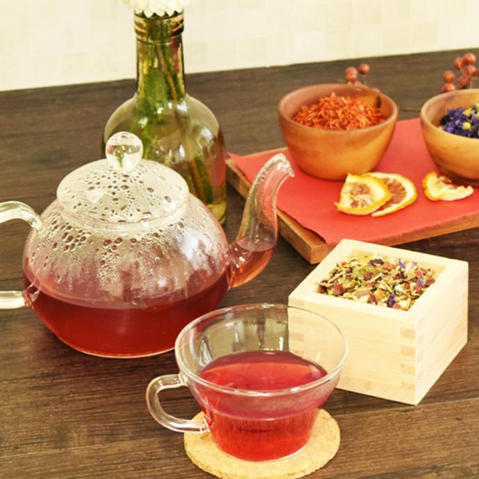 【限定商品】季節のお助けハーブがいっぱい!おまもり温茶(ぬくいっちゃ)発売中!