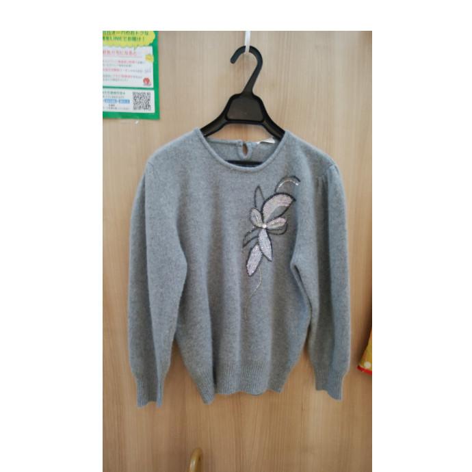 セーターのリメイクです!
