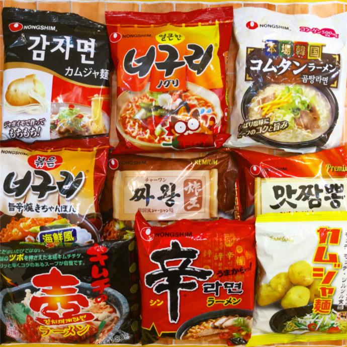 韓国ラーメンシリーズ🇰🇷