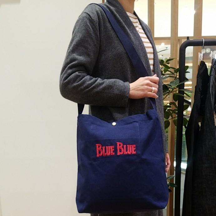BLUE BLUE☆ショルダーブックバッグ