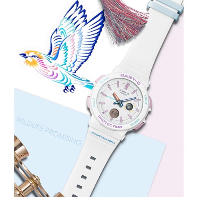 BABY-G 14色の美しい鳥をモチーフに