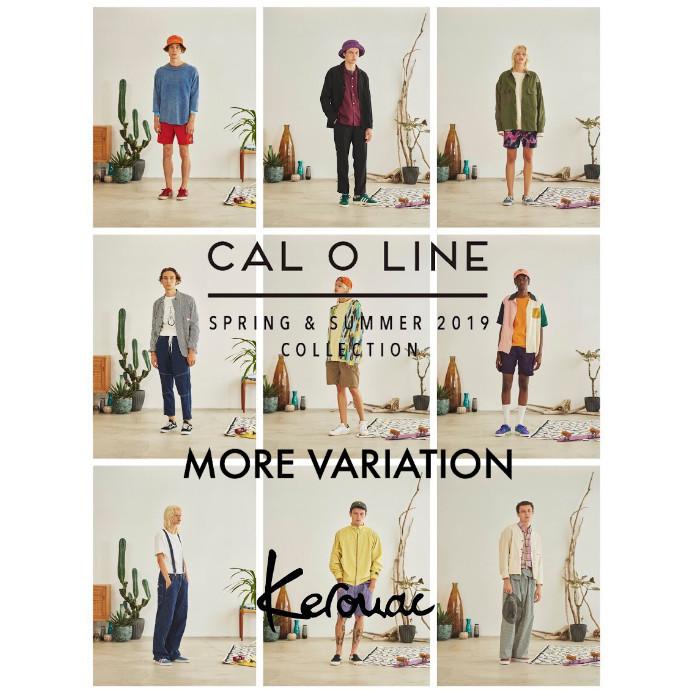 CAL O LINE SPRING & SUMMER 2019 COLLECTION MORE VARIATION