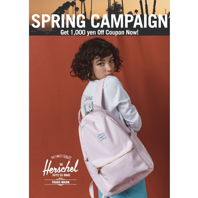 Herschel Supply Spring Campaign