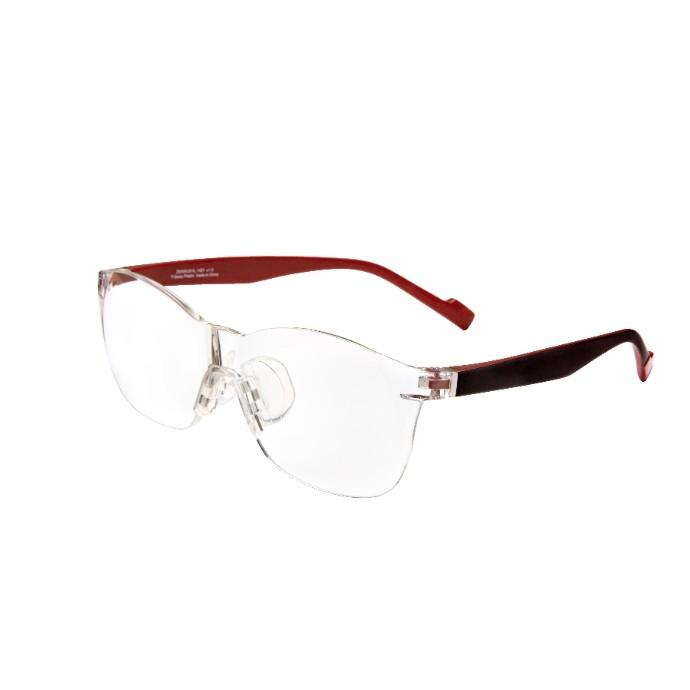 メガネ型ルーペ「Zoff DECA」