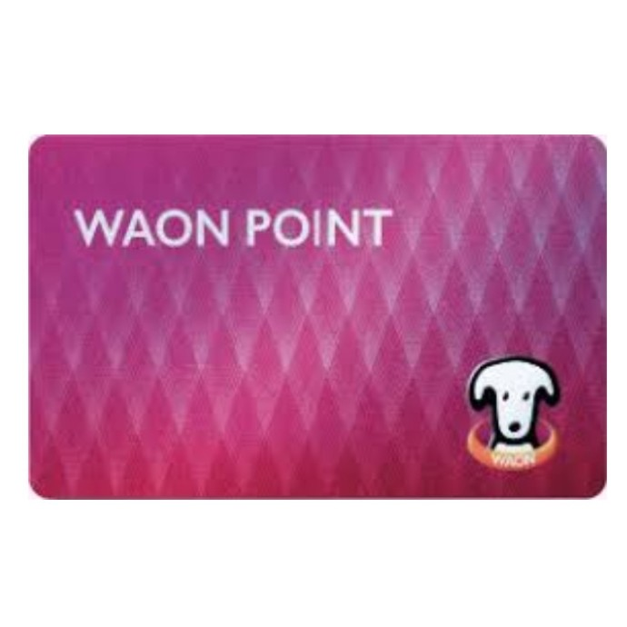 ■WAONPOINTカードのお渡し