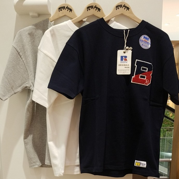 RUSSELL・BLUE BLUE☆COLLEGE B Tシャツ
