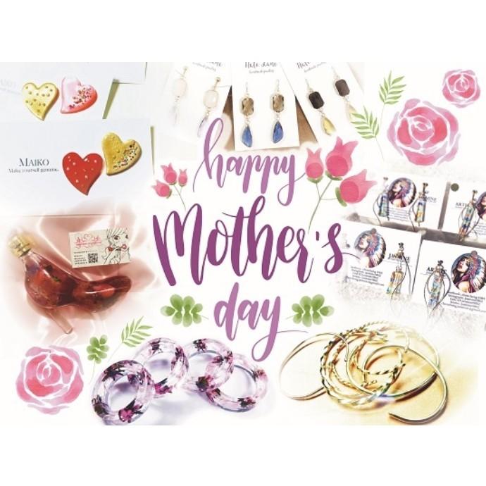 GW特別企画「happy mother's day」 アクセサリーハンドメイドマルシェ開催!