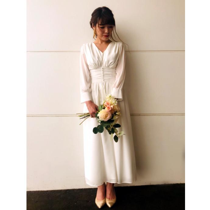 プチウェディングドレス