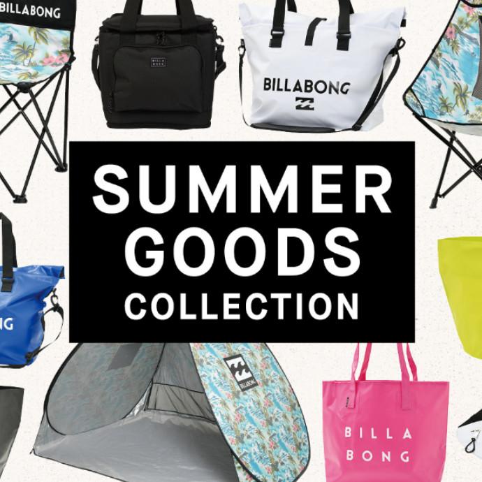 BILLABONG 【SUMMER GOODS COLLECTION】