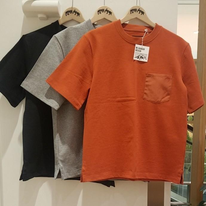 Mt.RAINIER DESIGN☆ポケットTシャツ