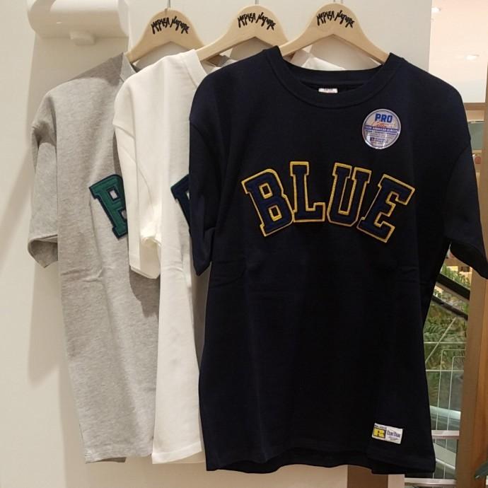 RUSSELL BLUE BLUE☆BLUEパッチTシャツ2