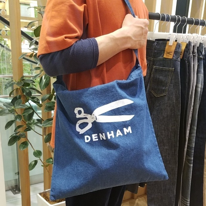 デンハム★TWO WAY TOTE DENIM
