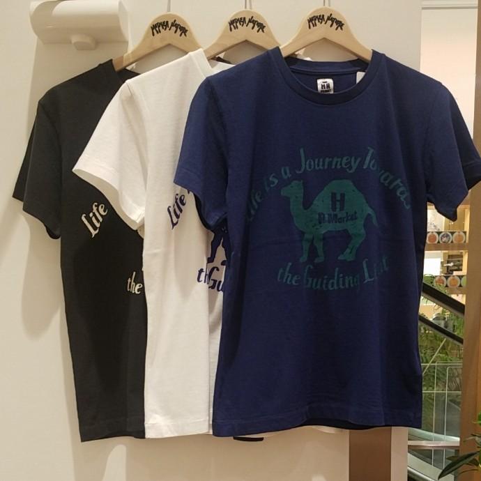 HRM☆ニュージャーニーキャメルTシャツ