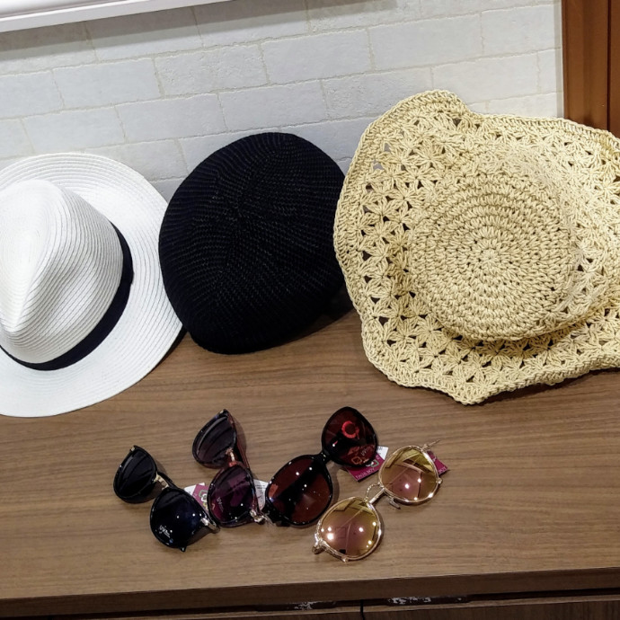 夏物ファッションアイテム