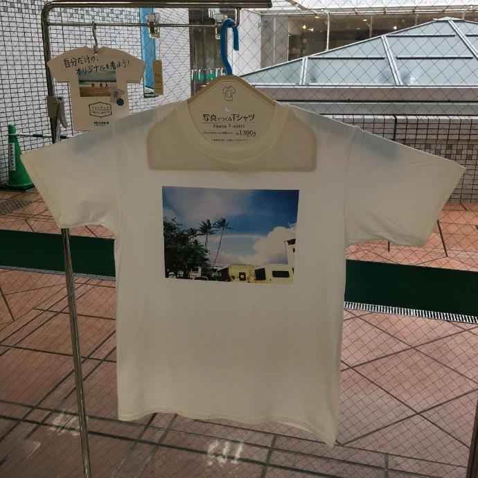 フォトグッズにTシャツが登場しました!