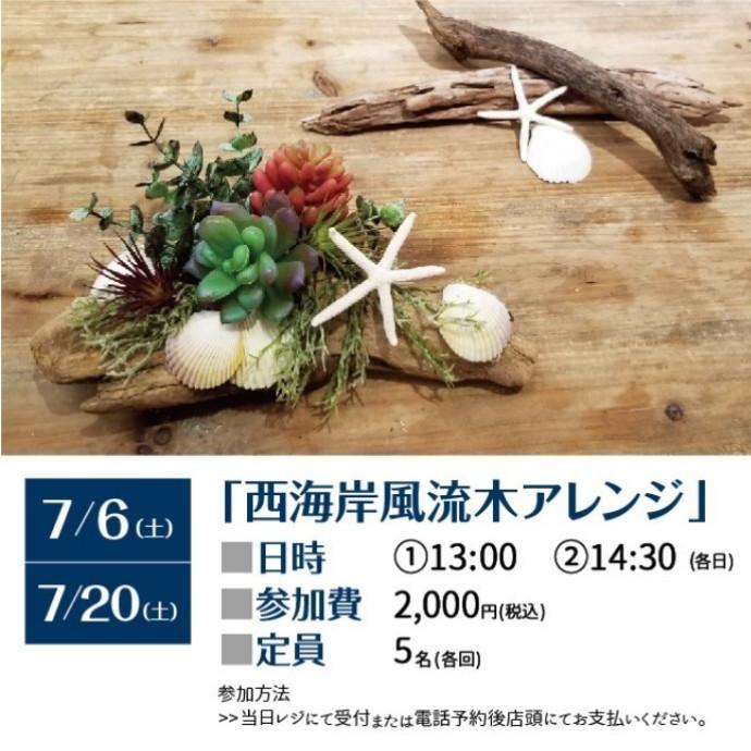 7/6(土)、20(土) ワークショップ開催!