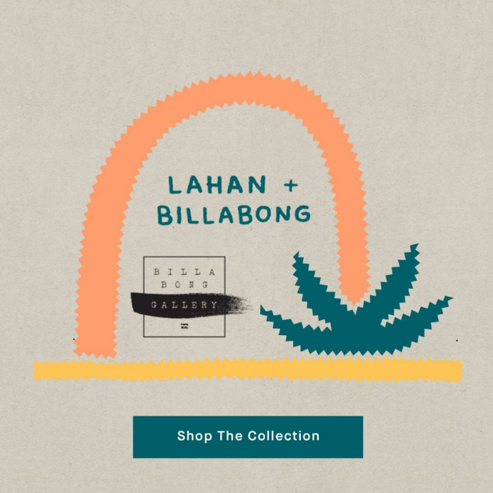 BILLABONG メンズ 【BILLABONG GALLERY/TIM LAHAN】 BUSY PALMS ボードショーツ/サーフトランクス NVY